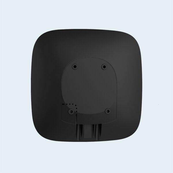 Центральный блок управления сигнализации Ajax Hub черного цвета
